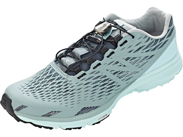 Salomon XA Amphib Shoes Dame stormy weather/lead/canal blue